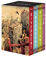 Divergent Anniversary 4-Book Box Set: Divergetn, Insurgent, Allegiant, Four 0063162237 Book Cover