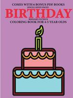 Coloring Book for 4-5 Year Olds (Birthday) 0244562059 Book Cover
