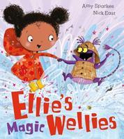 Ellie's Magical Wellies 1405273798 Book Cover
