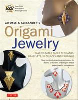 Origami Jewelry: Elegant Pendants, Medallions, Bracelets, Necklaces and Earrings 4805311517 Book Cover
