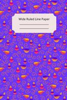 Hindu Art Inspirational, Motivational and Spiritual Theme Wide Ruled Line Paper 1676493034 Book Cover