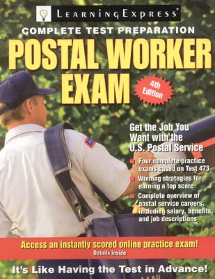 Postal Worker Exam Book By Learningexpress