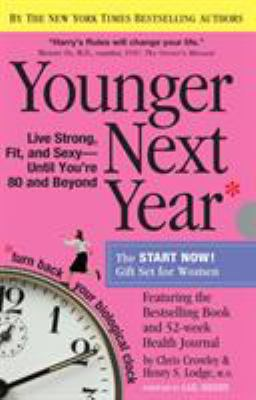 Paperback Younger Next Year Gift Set for Women Book