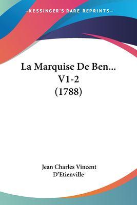 Paperback La Marquise de Ben V1-2 Book