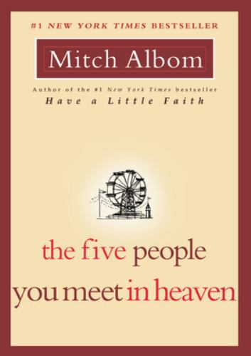 Paperback The Five People You Meet in Heaven Book