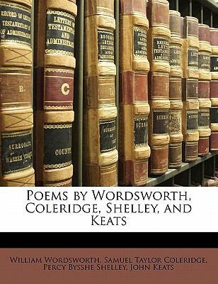 Paperback Poems by Wordsworth, Coleridge, Shelley, and Keats Book