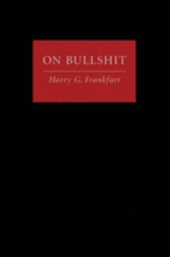 Hardcover On Bullshit Book