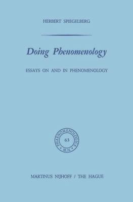 Doing Phenomenology