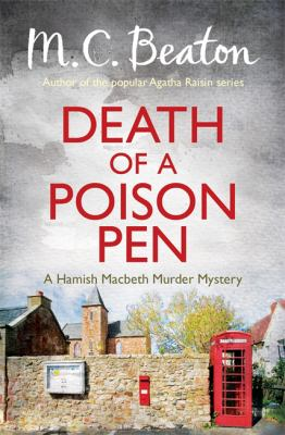 Death of a Poison Pen (Hamish Macbeth) [Paperba... 1472105389 Book Cover