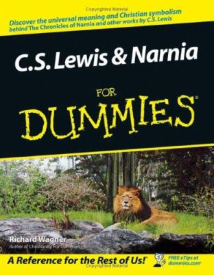 Cs Lewis Narnia For Dummies For Book By Richard Wagner