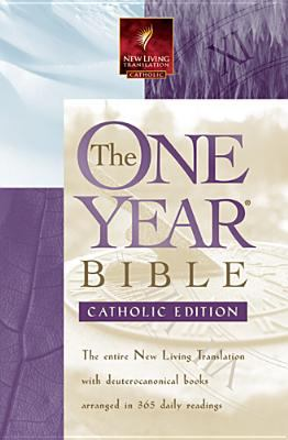 Paperback The One Year Bible : Catholic Edition Book