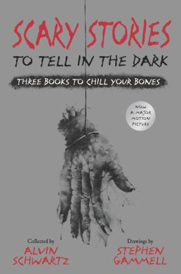 Hardcover Scary Stories to Tell in the Dark: Three Books to Chill Your Bones : All 3 Scary Stories Books with the Original Art! Book