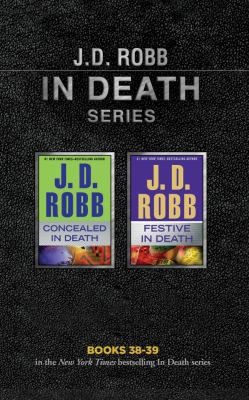 Audio CD J. D. Robb - In Death Series: Books 38-39: Concealed in Death, Festive in Death Book