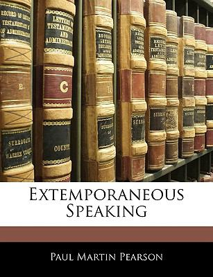 Paperback Extemporaneous Speaking Book