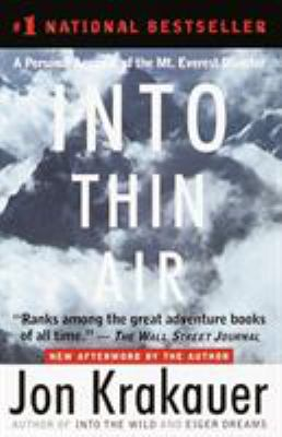 Paperback Into Thin Air : A Personal Account of the Mt. Everest Disaster Book