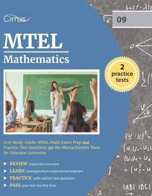 mtel mathematics 09 study guide mtel book by cirrus test prep rh thriftbooks com SHRM Exam Study Guide SHRM Exam Study Guide