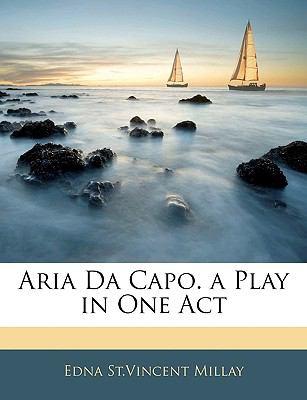 Paperback Aria Da Capo a Play in One Act Book