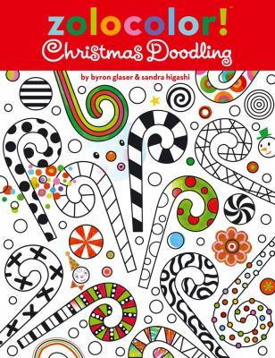 Zolocolor Christmas Doodling Book By Sandra Higashi