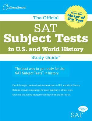 The Official SAT Subject Tests in U S  &    book by The College Board