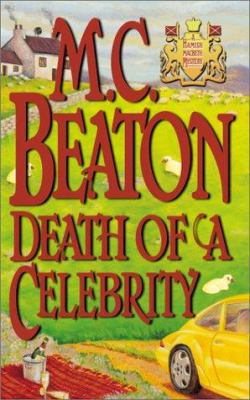 Death of a Celebrity (Hamish Macbeth Mysteries,... 0892966769 Book Cover