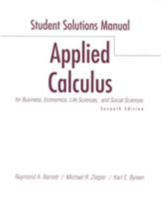 Applied Calculus Business Ecn