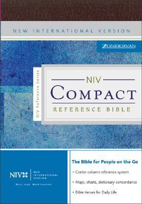 Paperback NIV Compact Reference Bible Book