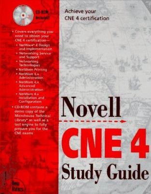 Novell Cne 4 Study Guide book by Dorothy L. Cady