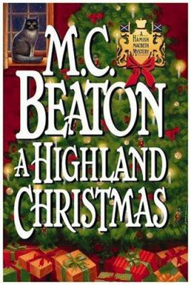 A Highland Christmas (Hamish Macbeth Mysteries,... 0892966998 Book Cover