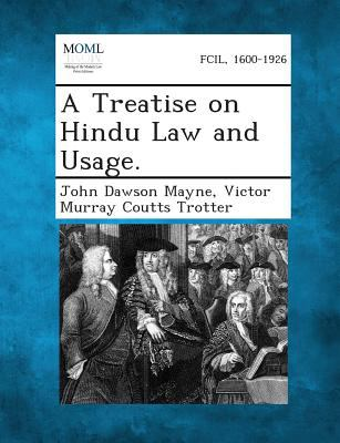 Paperback A Treatise on Hindu Law and Usage Book