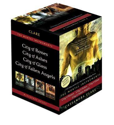 The Mortal Instrument Series: City of Bones / City of Ashes / City of Glass / City of Fallen Angels - Book  of the Mortal Instruments
