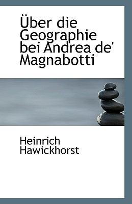 Paperback ?ber Die Geographie Bei Andrea de' Magnabotti Book