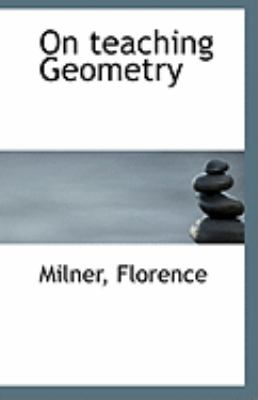 Paperback On Teaching Geometry Book