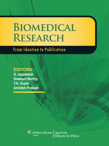 Paperback Biomedical Research Book