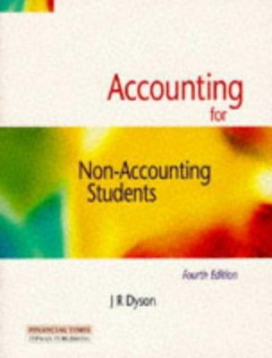 Accounting for non accounting students book by jr dyson accounting for non accounting students fandeluxe Gallery