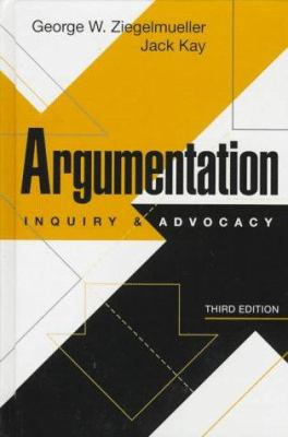 Paperback Argumentation : Inquiry and Advocacy Book