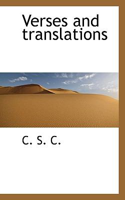 Paperback Verses and Translations Book