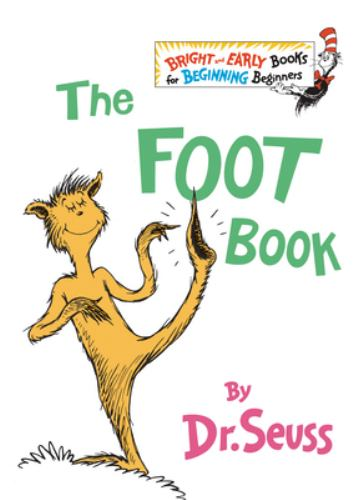 Hardcover The Foot Book