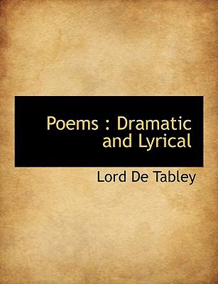 Paperback Poems : Dramatic and Lyrical Book