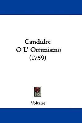 Hardcover Candido : O L' Ottimismo (1759) Book