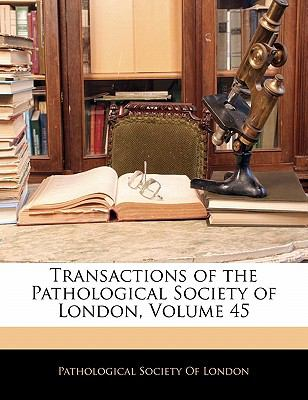 Paperback Transactions of the Pathological Society of London Book