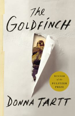 Hardcover The Goldfinch Book