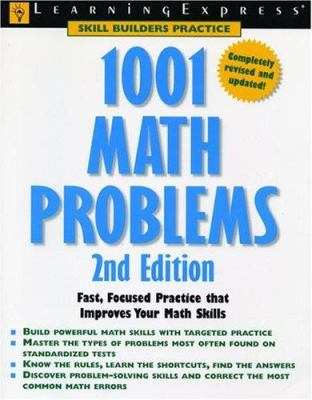 1001 Math Problems : Fast, Focused Practice That Improves Your Math Skills