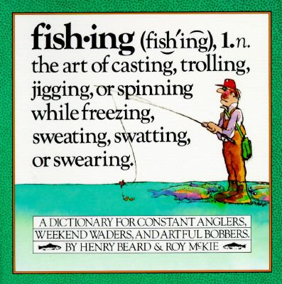 Paperback Fishing : An Angler's Dictionary Book