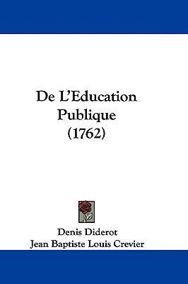 Hardcover De L'Education Publique Book