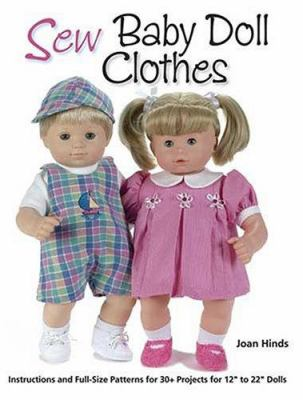 Sew Baby Doll Clothes book by Joan Hinds
