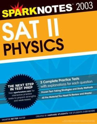 Spark Notes SAT II Physics book by SparkNotes
