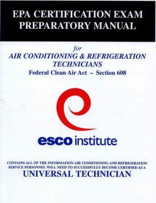 ESCO Institute Section 608 Certification... book by Esco Institute Staff