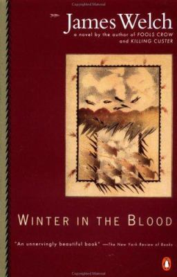 Book cover of Winter in the Blood