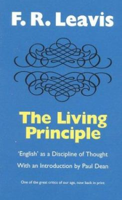 The Living Principle :