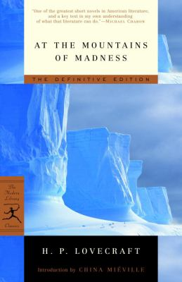 At the Mountains of Madness : The Definitive Ed... B00A2PTCJS Book Cover